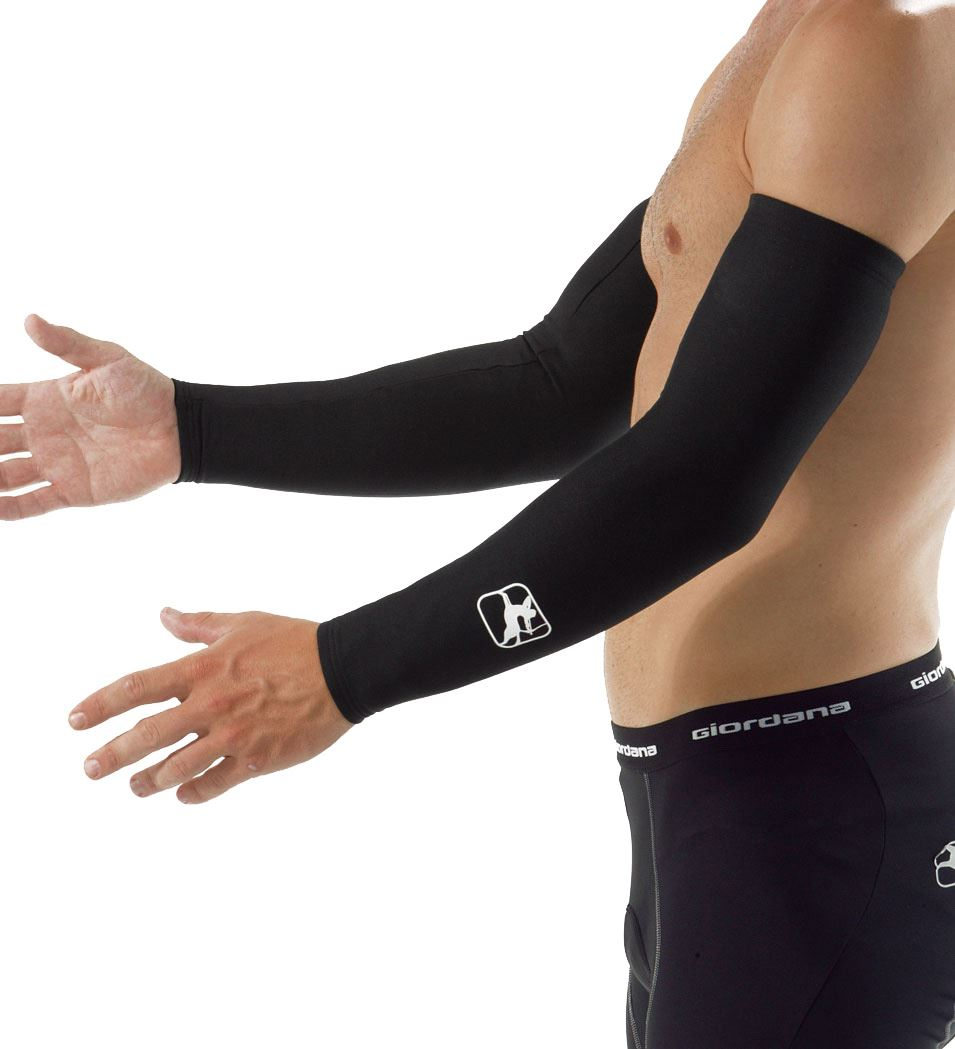 Picture of GIORDANA ARM WARMER BLACK