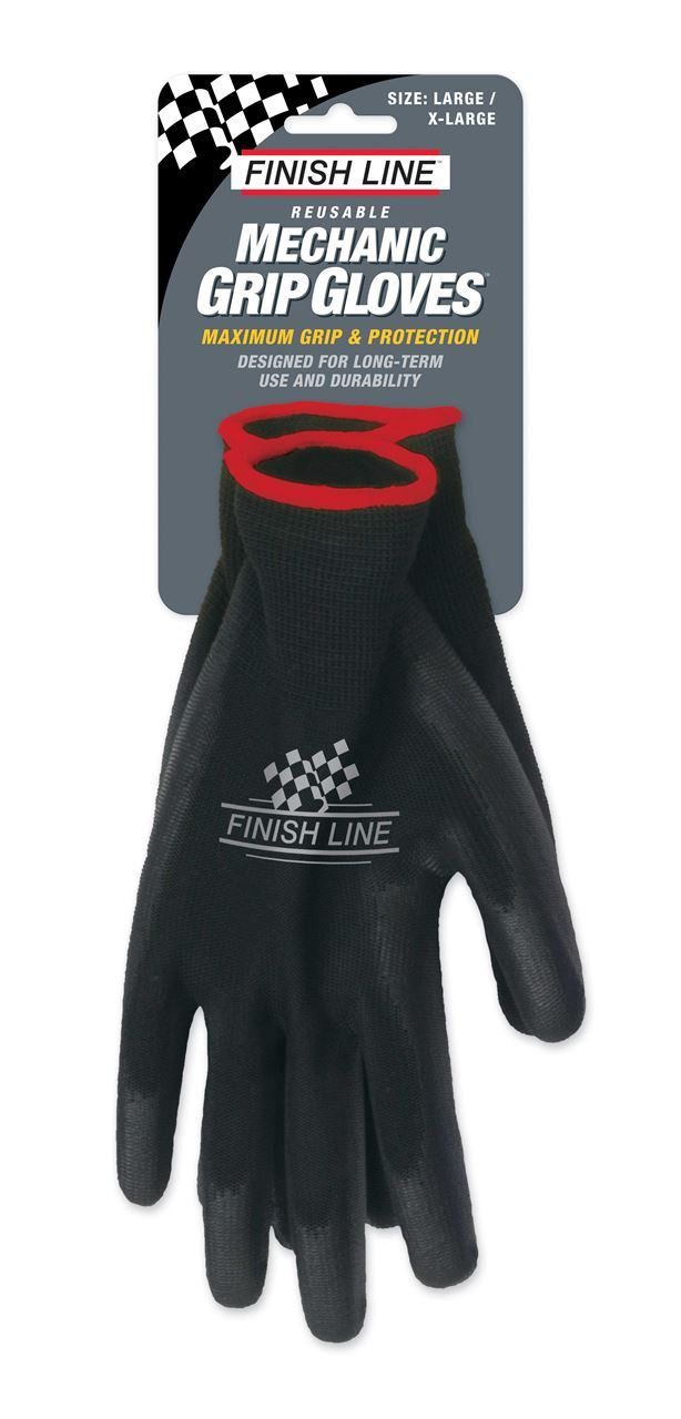 Picture of FINISH LINE MECHANIC GRIP GLOVES L/XL