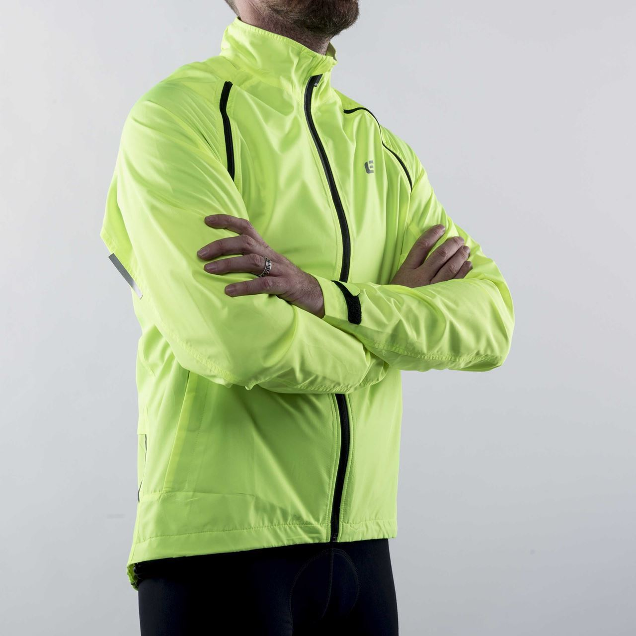 Picture of BELLWETHER CONVERTIBLE VELOCITY JACKET HI-VIS