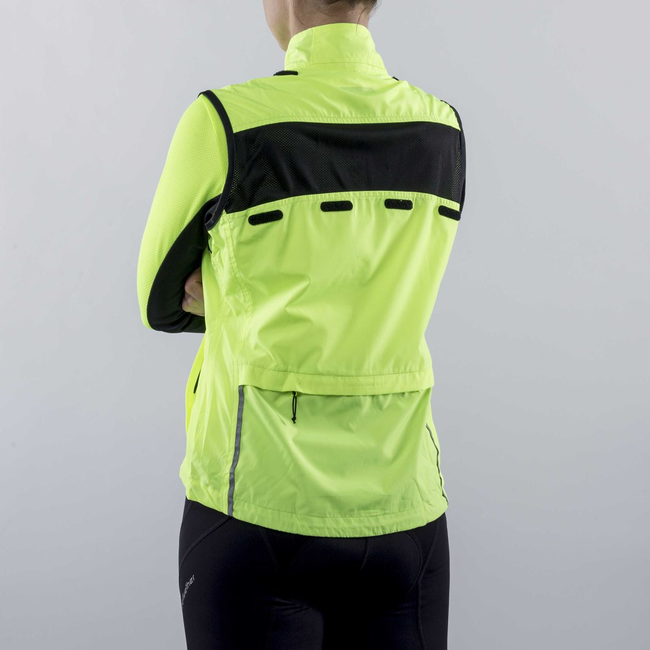 Picture of BELLWETHER WMS CONVERTIBLE VELOCITY JACKET HI-VIS