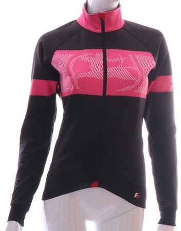 Picture of GIORDANA FRC TRADE WOMENS WINTER JACKET BLACK/PINK