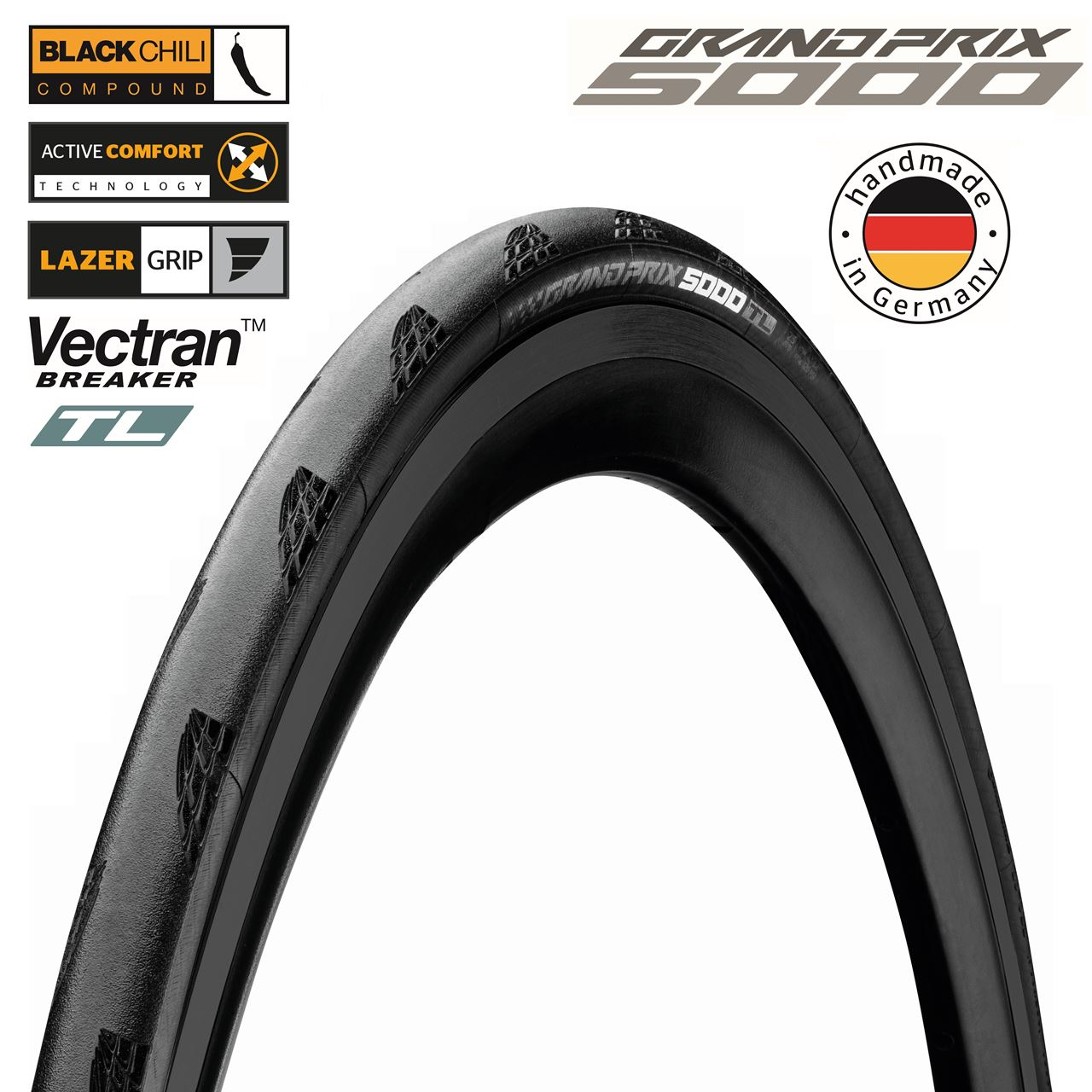 Picture of CONTINENTAL GRAND PRIX 5000 TL FLD 700x32C