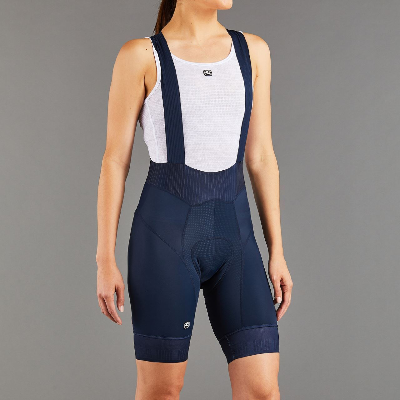 Picture of GIORDANA WOMENS FR-C PRO BIB NAVY