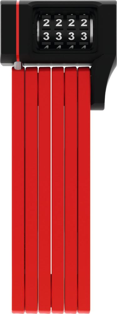 Picture of ABUS BORDO U-GRIP 5700 COMBO RED 80CM SH