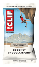 Picture of CLIF COCONUT CHOCOLATE CHIP BAR (12)