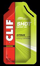 Picture of CLIF CITRUS + 25mg Caffeine SHOT GEL (24)